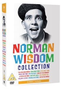 Norman Wisdom 12 DVDs Collection