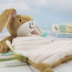 Personalised Nutbrown Snuggle Baby Toy