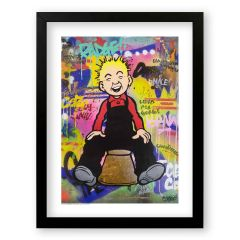 Oor Wullie … Braw Sleek Prints and Canvases