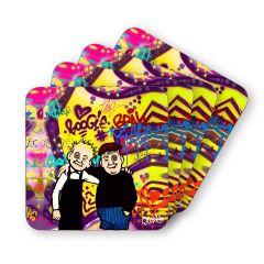 Oor Wullie and Fat Bob Coasters (4)