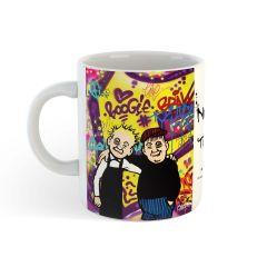 Oor Wullie and Fat Bob Mug
