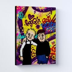 Oor Wullie and Fat Bob Sleek Prints and Canvases