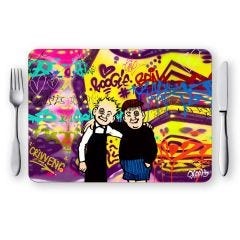 Oor Wullie and Fat Bob Placemat