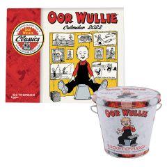 Oor Wullie Calendar & Bucket O' Fudge