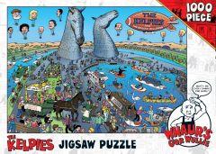 Whaur's Oor Wullie & Kelpies Jigsaw Puzzle