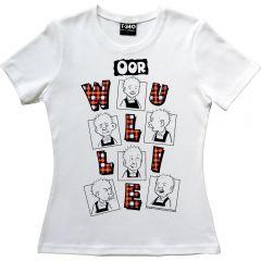 Oor Wullie Tartan Ladies T-shirt