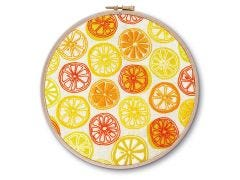 Oranges and Lemons Embroidery Kit