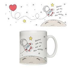 Personalised Out Of This World Mug