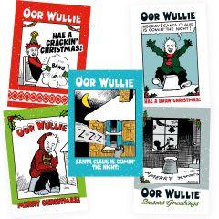 Oor Wullie Christmas Cards