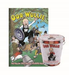 Oor Wullie Annual & Bucket O' Fudge