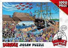Whaur's Oor Wullie in Dundee Jigsaw Puzzle