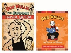 Oor Wullie My Book Of Riddles & Trivia Book