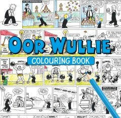 Oor Wullie Colouring Book