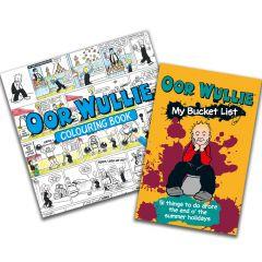 Oor Wullie Bucket List & Colouring Book Pack