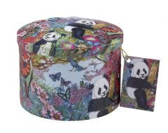 Pandas Playing Vanilla Fudge Tin