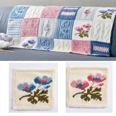 Debbie Bliss Primavera Blanket Pattern Part 4