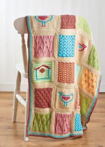 Little Birds Blanket Pattern Part 5