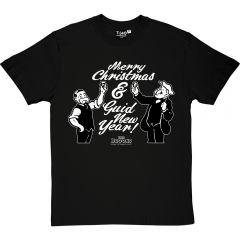 Paw & Granpaw Broons Christmas LadiesT-Shirt