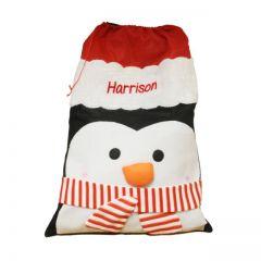 Penguin Plush Sack