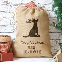 Personalised Dog Sack