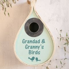 Personalised Oval Bird House