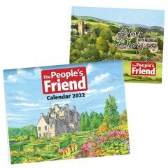 The People's Friend Calendar & Diary 2022