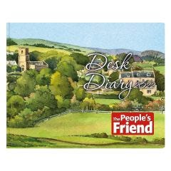 The People's Friend Desk Diary 2022