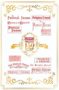 The People's Friend 150th Anniversary Tea Towel & Mug Pack