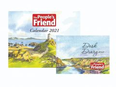 The People's Friend Calendar & Diary Pack 2021