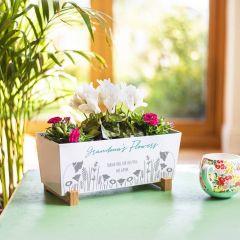 Personalised Flower Planter