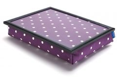 Purple Spotty Lap Tray