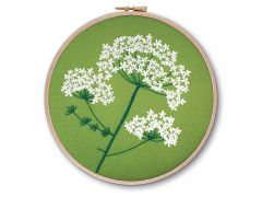 Queen Anne's Lace Embroidery Kit