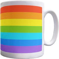 Rainbow Stripes Mug