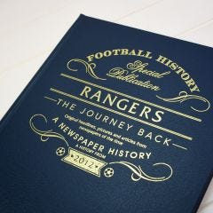 Personalised Rangers Football Book: The Journey Back