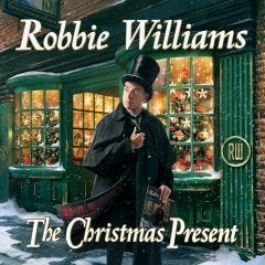 "Robbie Williams ""The Christmas Present"" CD"