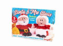 Santa and Mrs Claus Knit Kit