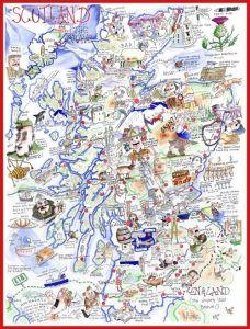 Scotland Jigsaw by Tim Bulmer