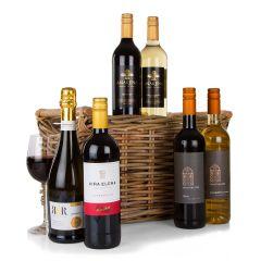 Six Wines in Wicker