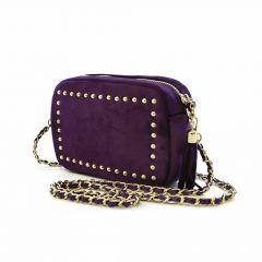 Sienna Jones Aubergine Sophie Stanbury Crossbody Handbag