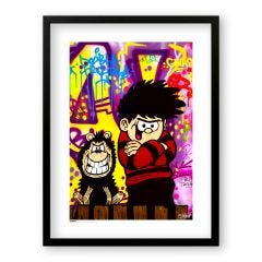 Beano Nothing But Trouble Print