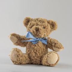 New Baby Boy Personalised Bramble Bear Soft Plush Toy