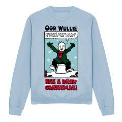 Oor Wullie Hae A Braw Christmas Jumper