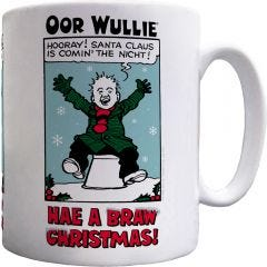 Oor Wullie Hae A Braw Christmas! Mug