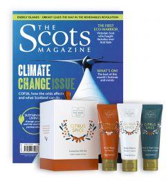 The Scots Magazine Subscription (Citrus Spice Soap Set)