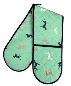 Spotty Dogs Double Oven Glove