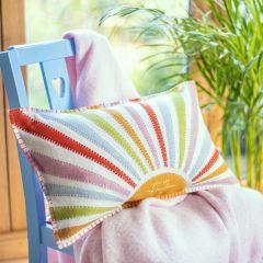 Hand Appliqued Sunshine Cushion