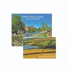 This England Calendar and Diary 2021