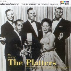 The Platters - The Best Of CD