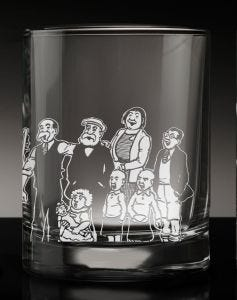 The Broons Singalong Crystal Tumbler