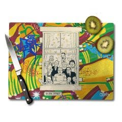 The Broons Make Every Family Happy Chopping Board